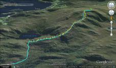 The new route. 50 sticks (so far)