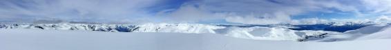 Summit panorama