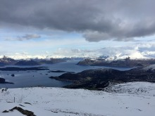 View towards Sunnmørsalpane