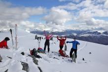 On Snøhornet summit