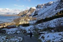 Heading up from Goksøyr