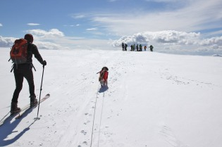 Arriving on the summit