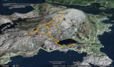 My route across Skredvarden