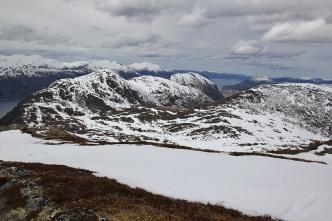 View towards Rotsethornet