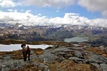 View from Gjelsvikefjellet