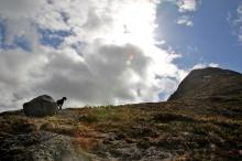 On the ridge towards Dokka