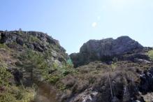 The Buskefjellet gorge