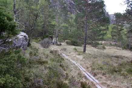 On the path into Bordbotnen