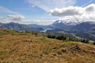 View from Sjønakletten