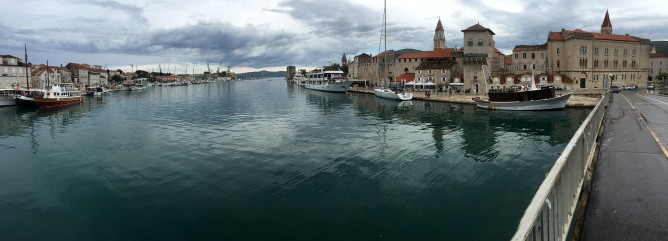 Bike trip from Trogir