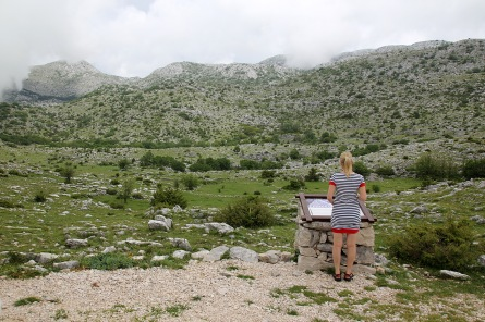 Inside Biokovo national park,