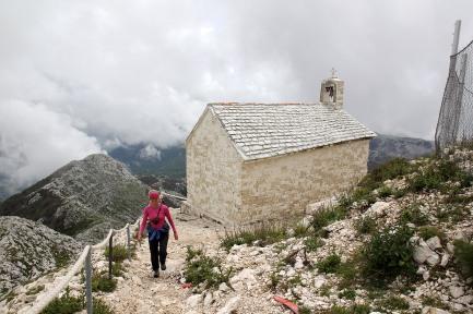 The churh on Sveti Jure