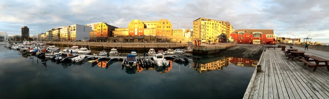 Bodø seafront