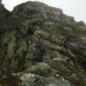 The crux of the route