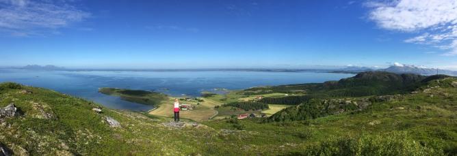 Ravnfloget summit view (1/3)