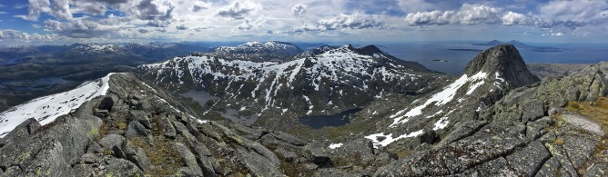 Summit panorama (2/3)