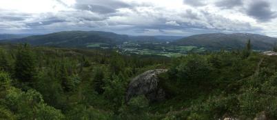 View from Fagerliklumpen