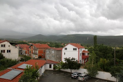 Waiting for better weather in Knin
