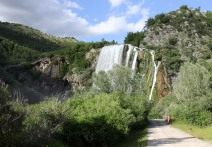 Krka river waterfall
