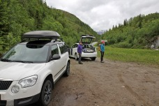 We left one car at Storvatnet