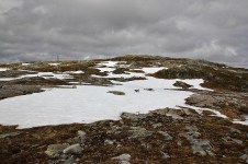 Still patches of snow left