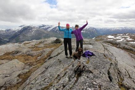 On top of Landnubben