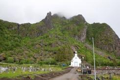 The Fløya and Geita trailhead