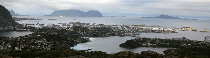 View towards Svolvær