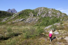 On the way to Søråsen