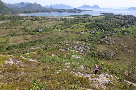 View in direction of Kabelvåg