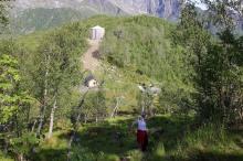 Descending Søråsen