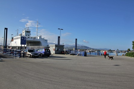 Waiting for departure from Tjøtta