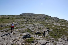 On the way to Hamnfjellet