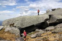 BIG boulder!