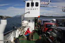 A very cosy ferry