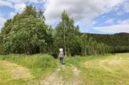 Trailhead at Leksås