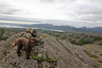 On top of Osplikammen