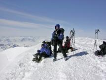 On Greenland's 2nd highest peak