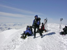 On Greenland's 2nd highest peak