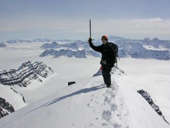 Me on Ebeth's south peak
