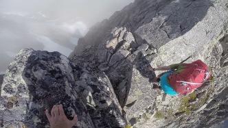 Getting of the ridge