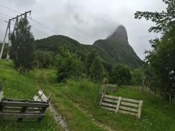 Liadalsnipa is a beautiful peak. Even in fog