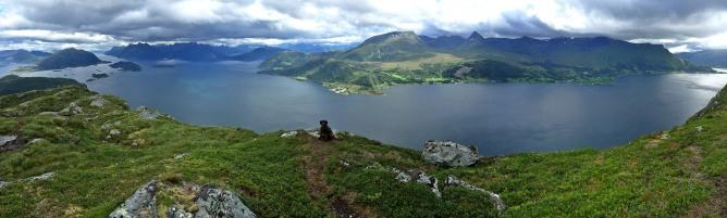 Laupsnipa summit view
