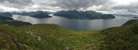 Voldsfjorden, Austefjorden and Dalsfjorden
