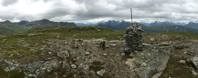 Summit view from Gryta (1/3)
