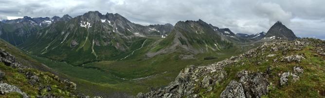 Maudekollen summit view (2/2)