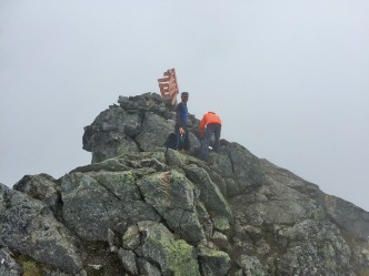Terje on the summit