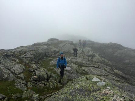 Anne. The ridge is more distinct here