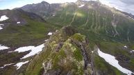 Descending Midtre Raudfonndalstind