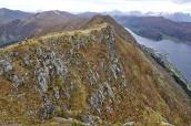 The ridge, seen from Gjøna